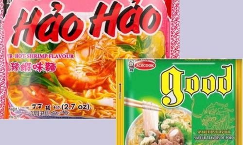 Cảnh báo của Liên minh Châu Âu về sản phẩm mỳ tôm chua cay nhãn hiệu  Hao Hao Sour-Hot Shrimp Flavour