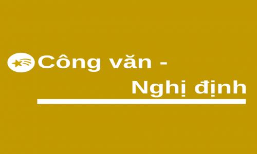 THÔNG BÁO VỀ VIỆC BAN HÀNH NGHỊ ĐỊNH 15/2018/NĐ-CP THAY THẾ NGHỊ ĐỊNH 38/2012/NĐ-CP